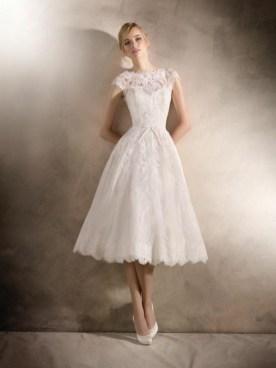 60 Simple Vintage Wedding Dress Ideas 23