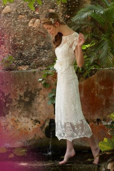 60 Simple Vintage Wedding Dress Ideas 40