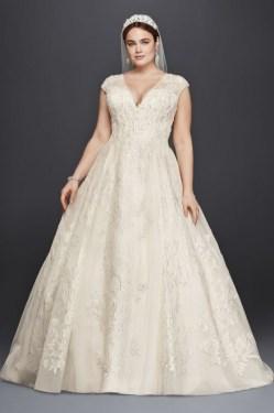 70 Elegant Ball Gown Wedding Dresses For Plus Size 02