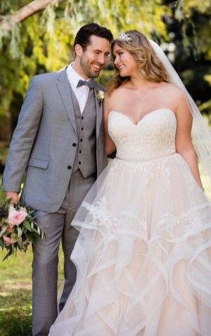 70 Elegant Ball Gown Wedding Dresses For Plus Size 05