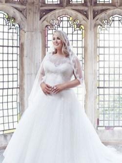 70 Elegant Ball Gown Wedding Dresses For Plus Size 14