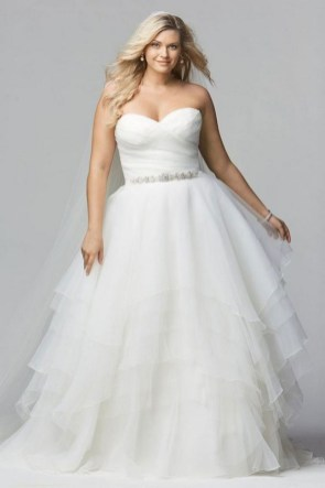70 Elegant Ball Gown Wedding Dresses For Plus Size 18