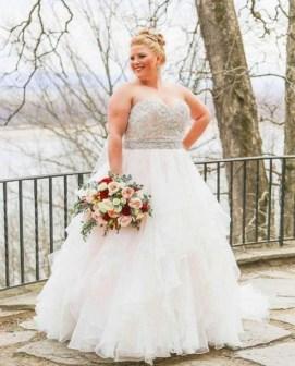 70 Elegant Ball Gown Wedding Dresses For Plus Size 30