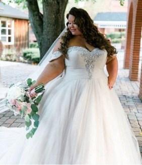 70 Elegant Ball Gown Wedding Dresses For Plus Size 36
