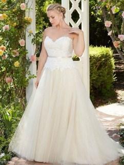 70 Elegant Ball Gown Wedding Dresses For Plus Size 41
