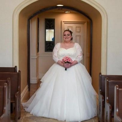 70 Elegant Ball Gown Wedding Dresses For Plus Size 45