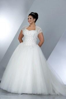 70 Elegant Ball Gown Wedding Dresses For Plus Size 48