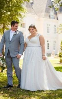 70 Elegant Ball Gown Wedding Dresses For Plus Size 50