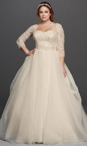 70 Elegant Ball Gown Wedding Dresses For Plus Size 77
