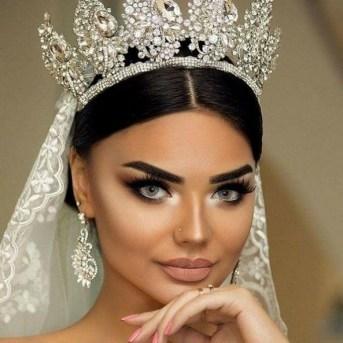 70 Elegant Bridal Crown Wedding Ideas 11