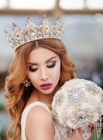 70 Elegant Bridal Crown Wedding Ideas 16