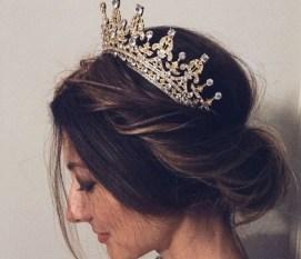 70 Elegant Bridal Crown Wedding Ideas 33
