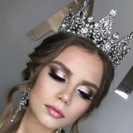 70 Elegant Bridal Crown Wedding Ideas 34