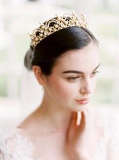70 Elegant Bridal Crown Wedding Ideas 43