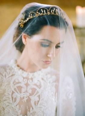 70 Elegant Bridal Crown Wedding Ideas 56