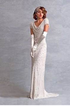 70 Gatsby Glamour Wedding Dresses Ideas 03