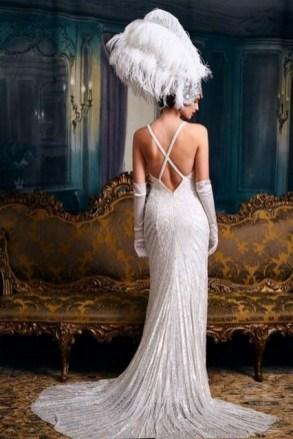 70 Gatsby Glamour Wedding Dresses Ideas 21