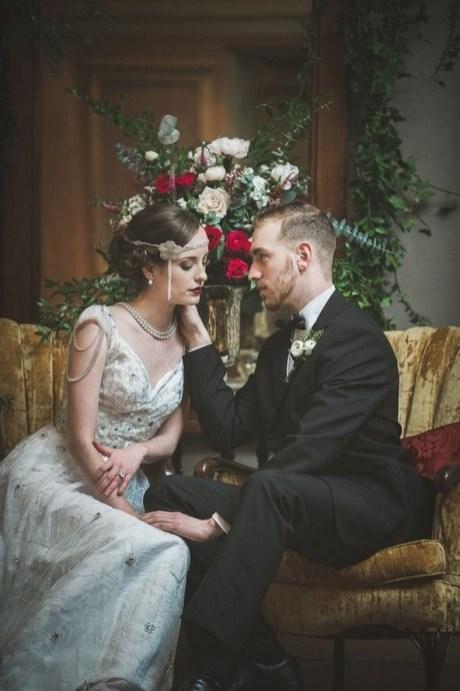 70 Gatsby Glamour Wedding Dresses Ideas 33