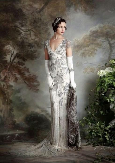 70 Gatsby Glamour Wedding Dresses Ideas 34