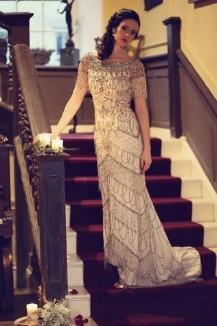 70 Gatsby Glamour Wedding Dresses Ideas 54