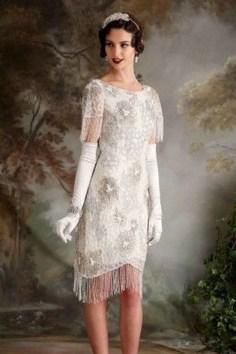 70 Gatsby Glamour Wedding Dresses Ideas 63