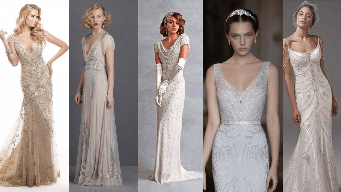 70 Gatsby Glamour Wedding Dresses Ideas