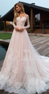 70 Long Sleeve Lace Wedding Dresses Ideas 11