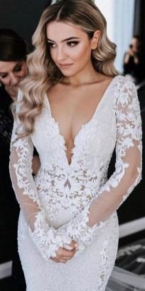 70 Long Sleeve Lace Wedding Dresses Ideas 16