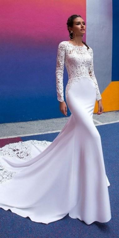 70 Long Sleeve Lace Wedding Dresses Ideas 26