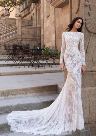 70 Long Sleeve Lace Wedding Dresses Ideas 34