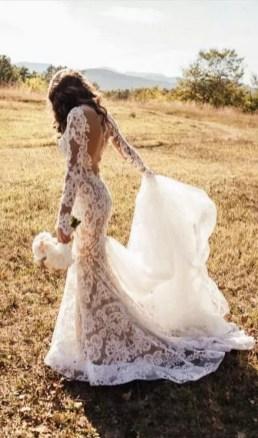 70 Long Sleeve Lace Wedding Dresses Ideas 50