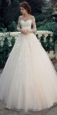 70 Long Sleeve Lace Wedding Dresses Ideas 53