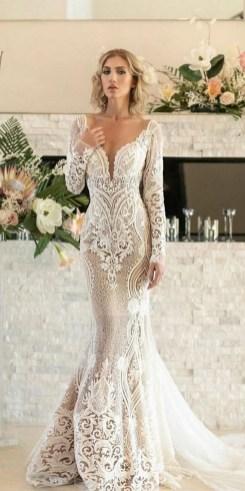 70 Long Sleeve Lace Wedding Dresses Ideas 55