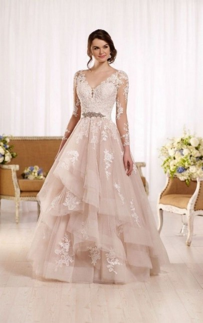 70 Long Sleeve Lace Wedding Dresses Ideas 57