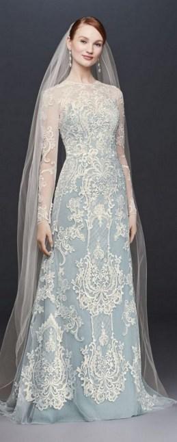 70 Long Sleeve Lace Wedding Dresses Ideas 58