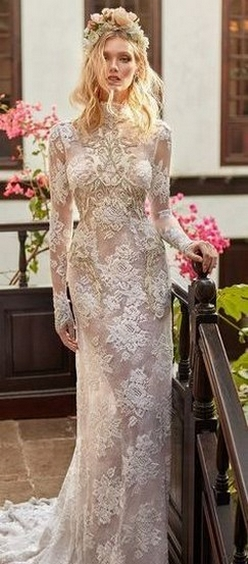 70 Long Sleeve Lace Wedding Dresses Ideas 59