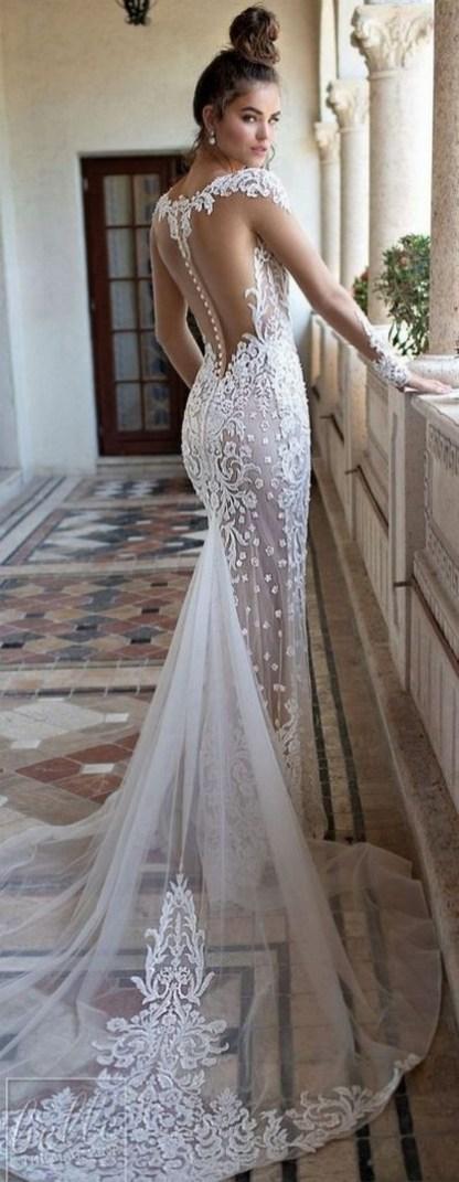 70 Long Sleeve Lace Wedding Dresses Ideas 65