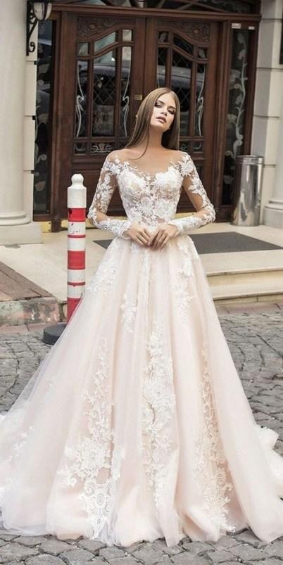 70 Long Sleeve Lace Wedding Dresses Ideas 72