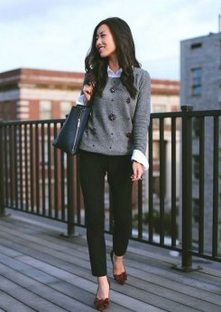 75 How to Wear Sweater for Working Women 29