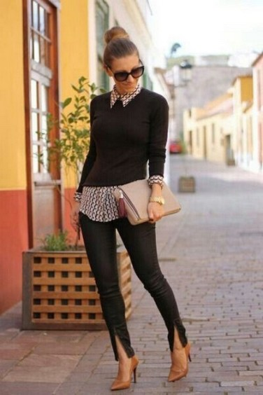 75 How to Wear Sweater for Working Women 46