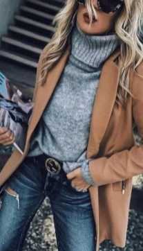 75 How to Wear Sweater for Working Women 50
