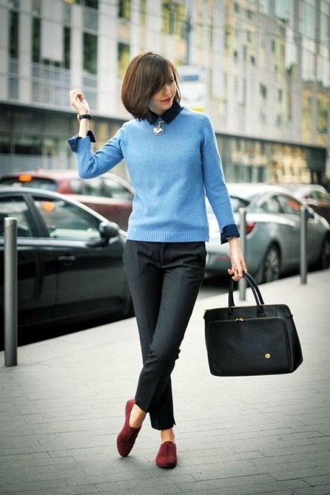 75 How to Wear Sweater for Working Women 52