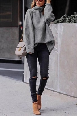 75 How to Wear Sweater for Working Women 59