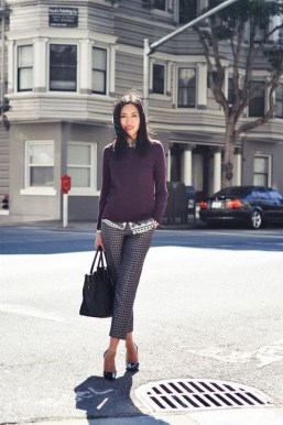 75 How to Wear Sweater for Working Women 61