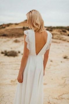 80 Adorable V Shape Back Wedding Dresses You Need to See 16