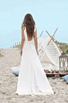 80 Adorable V Shape Back Wedding Dresses You Need to See 24