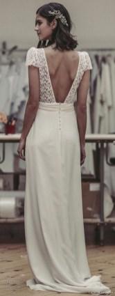 80 Adorable V Shape Back Wedding Dresses You Need to See 37