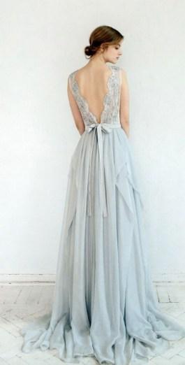80 Adorable V Shape Back Wedding Dresses You Need to See 44