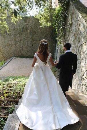 80 Adorable V Shape Back Wedding Dresses You Need to See 55