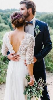 80 Adorable V Shape Back Wedding Dresses You Need to See 60